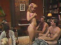 Blowjob, Group Sex, MILF, Blonde, Vintage