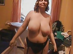 Anal, BBW, Big Boobs, Masturbation, Stockings