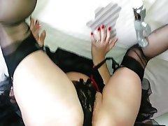 Amateur, Cumshot, Pantyhose, Stockings