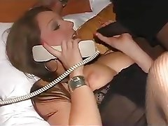 Blowjob, British, Interracial, Stockings