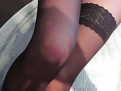 Amateur, British, Cumshot, Pantyhose, Stockings
