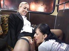 Ass Licking, British, Lesbian