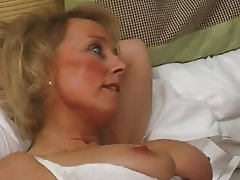British, Cum in mouth, MILF, Nipples