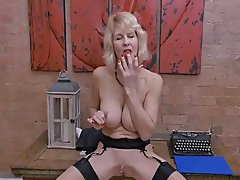 British, Mature, Secretary