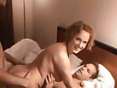 Amateur, Double Penetration, Group Sex, MILF