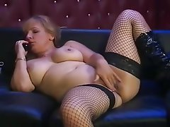British, Big Boobs, Masturbation, Mature