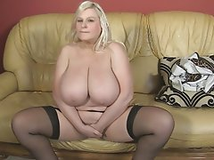 BBW, Big Boobs, British, Mature