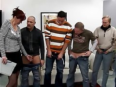 Blowjob, Facial, Gangbang, Group Sex, Mature