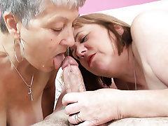 Mature, MILF, British, Cum in mouth