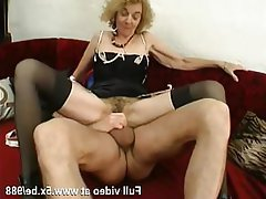 Amateur, Anal, Stockings, French, Granny