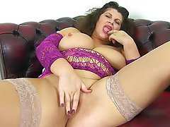 Mature, MILF, British, Mature, Dildo, Mature