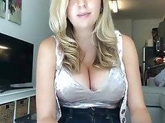 Babe, Blonde, Big Boobs, Big Tits