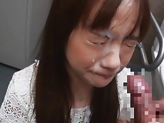 Asian, Blowjob, Cumshot, Facial, Japanese