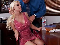 Blonde, Wife, Big Tits, Blowjob
