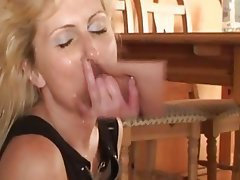 Amateur, Blonde, Creampie, Mature