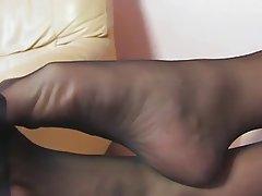 Amateur, Blonde, Foot Fetish, MILF, Stockings
