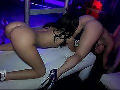 Babe, Blowjob, Brunette, Doggystyle