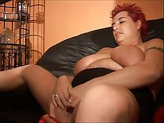 BBW, Big Boobs, German, MILF