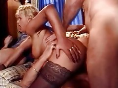 Anal, Blonde, Big Boobs, Double Penetration