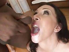 Bukkake, Cumshot, Facial, Group Sex, Pornstar