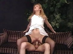 Ass Licking, Facial, German, MILF, Stockings