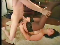 Anal, British, Hardcore, Stockings, Threesome