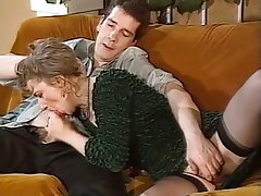 Anal, French, Group Sex, MILF, Stockings