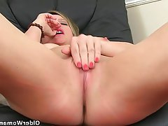British, Mature, Masturbation, Mature