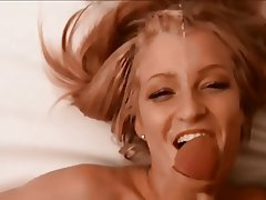 Amateur, Blonde, Cumshot, Facial, POV